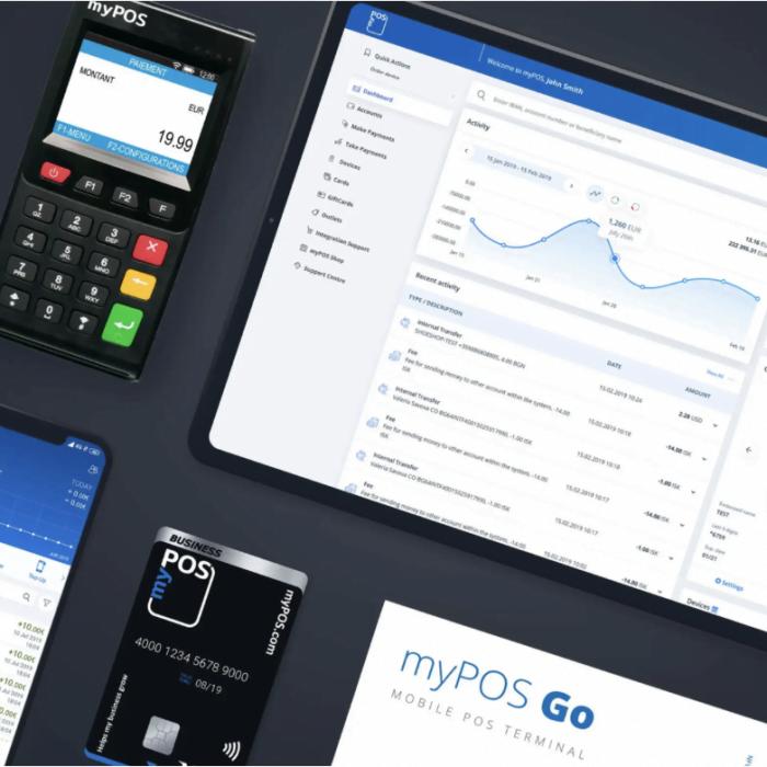 MyPOS, nouveau partenaire on adhère